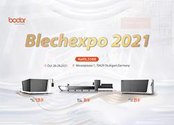 Bodor Top Laser Cutting Show auf der Weltleitmesse : Blechexpo 2021