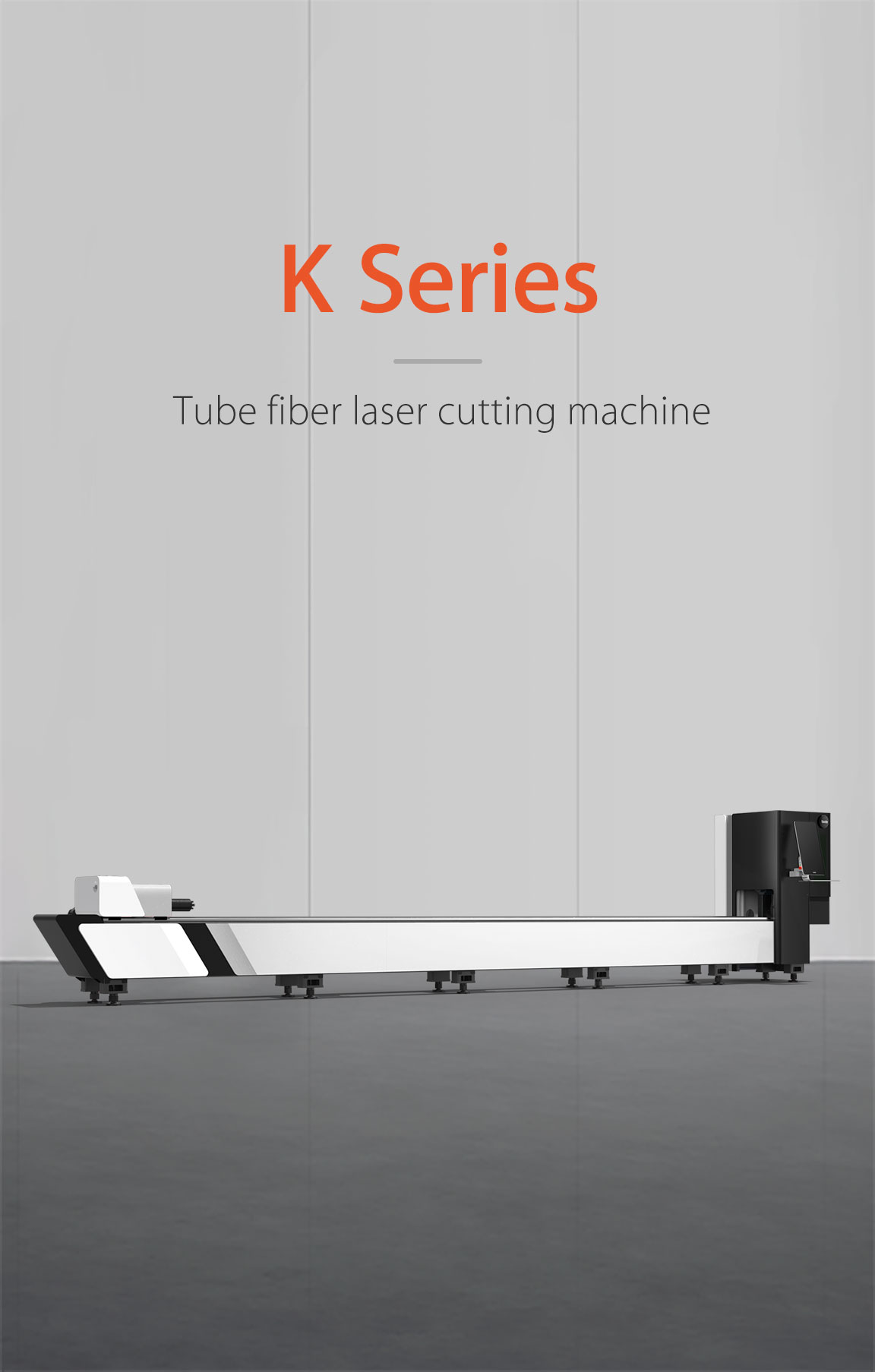 Economical tube fiber laser cutting machine k Series