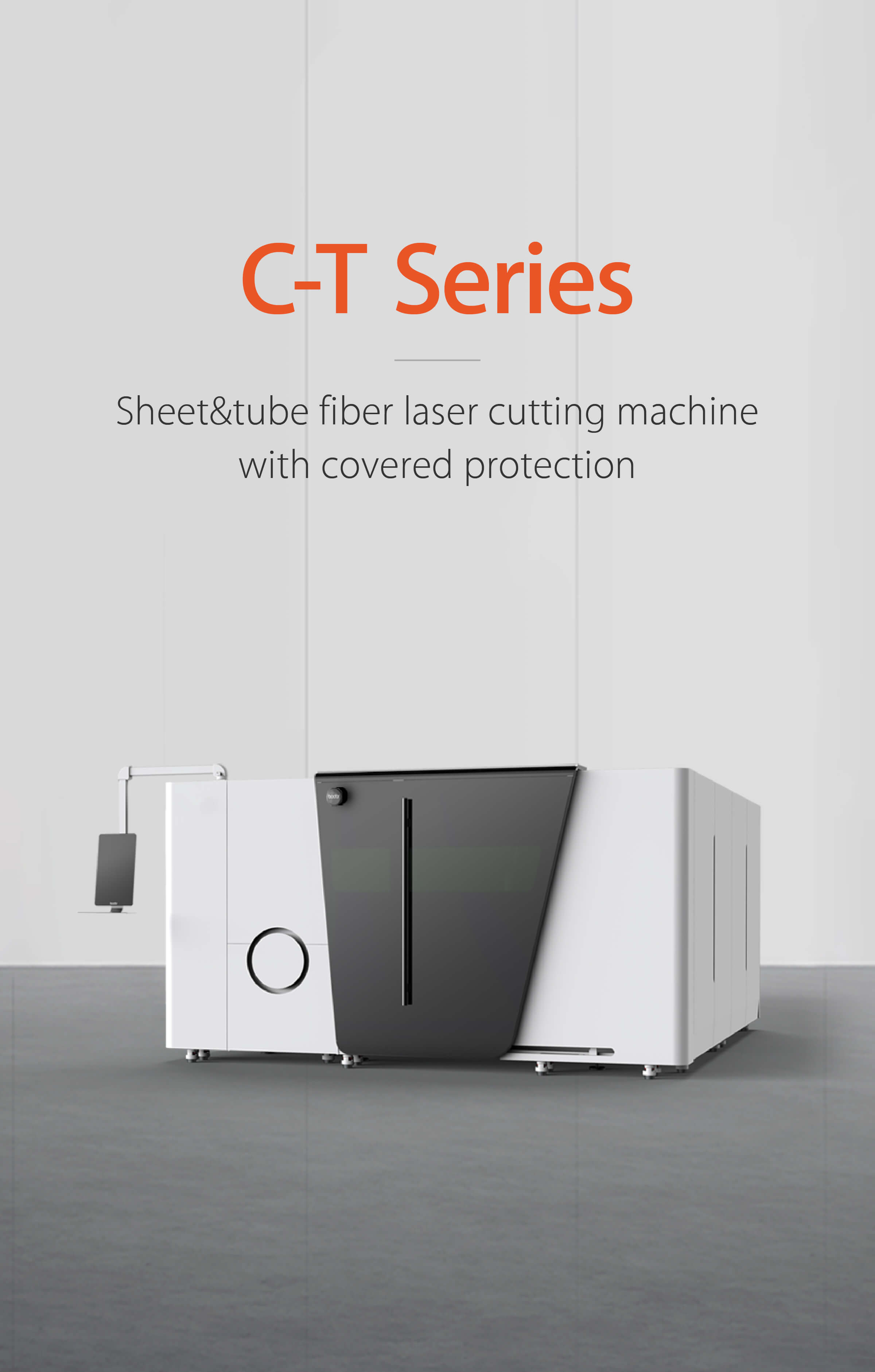 All-around protective covering Sheet & tube fiber laser cutting machine