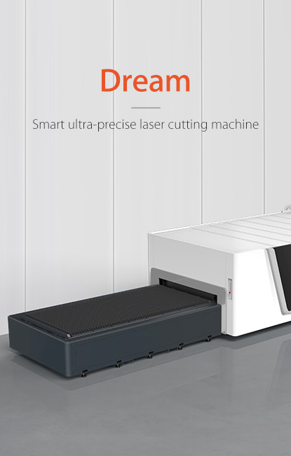 High-end flagship smart automatic ultra high power plate laser cutting machine Dream Series