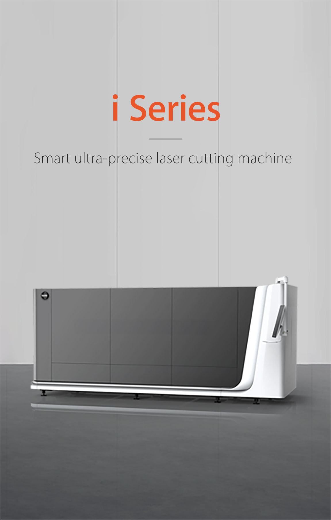 High precision laser cutting machine i Series