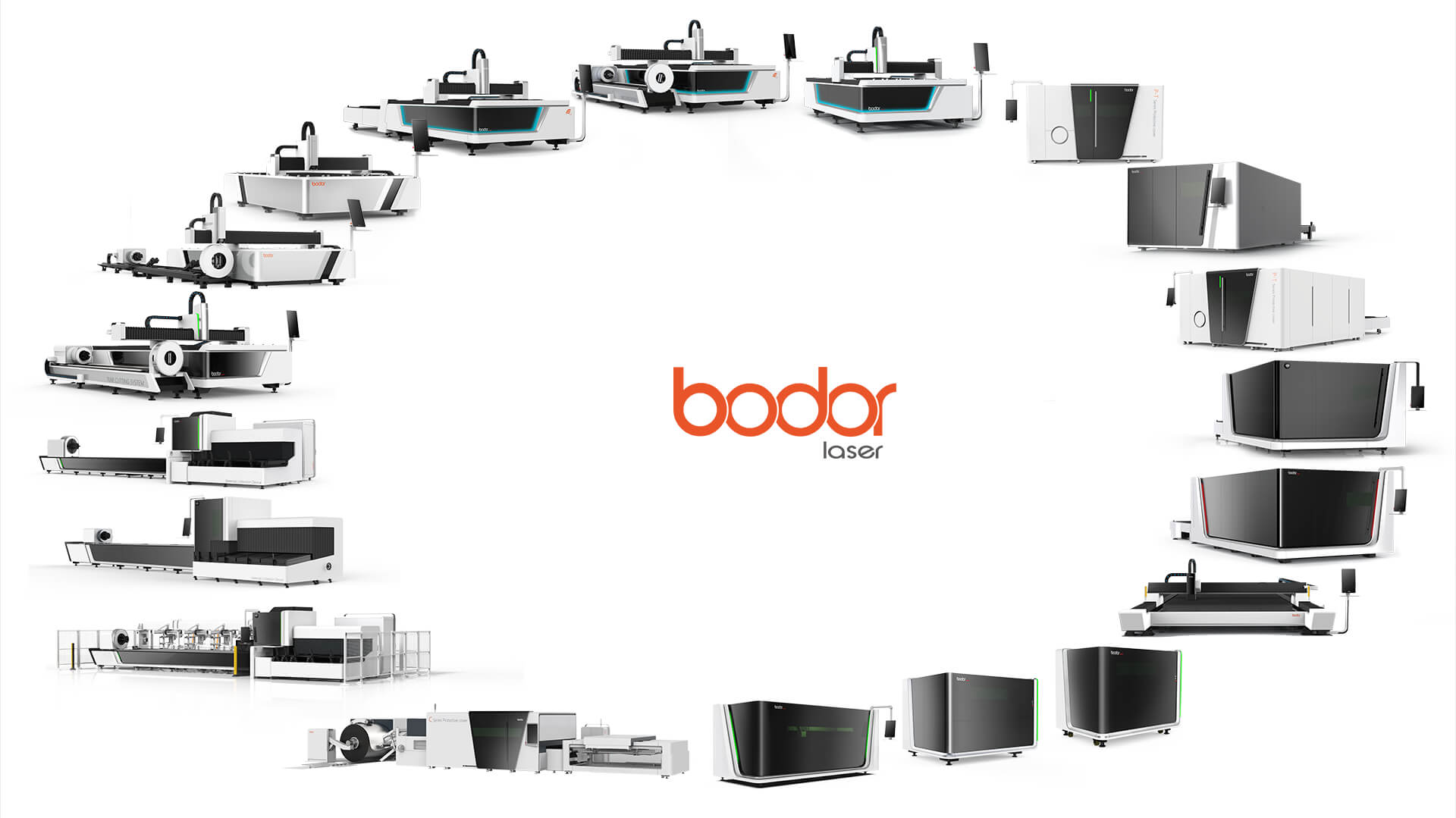 Bodor family portrait of laser cutting machine