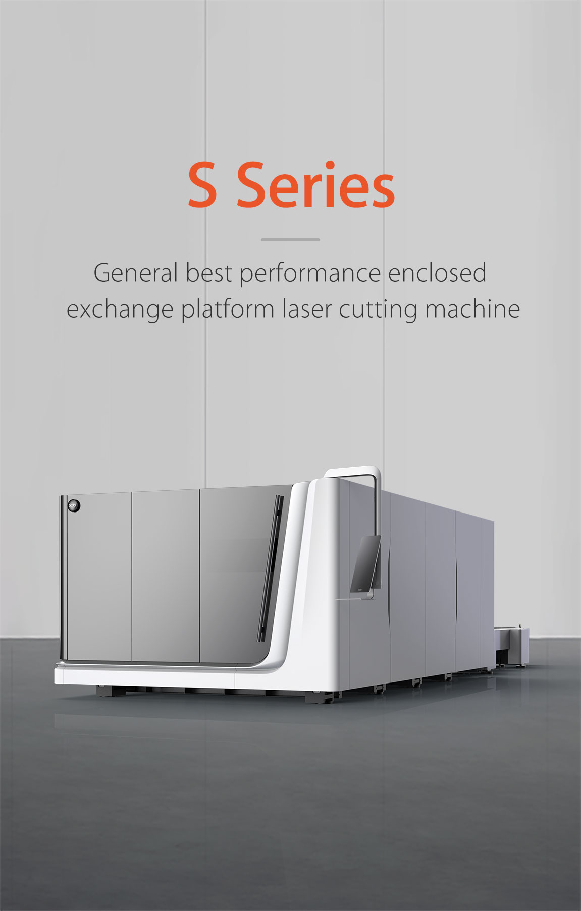 High-end flagship smart automatic ultra high power plate laser cutting machine S Series